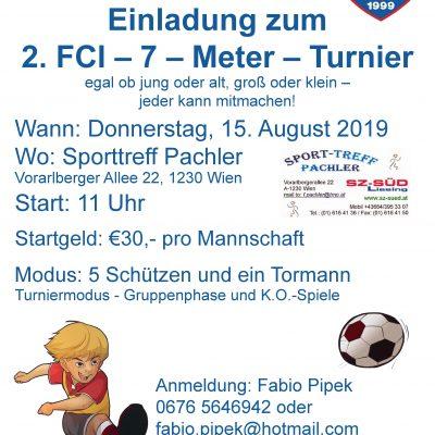 2. FCI 7 Meter Turnier