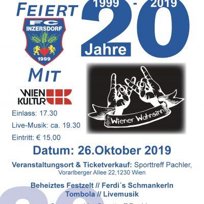 20 Jahre FC-Inzersdorf